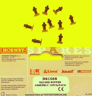 hornby international ho spares hs1068 1x sprung buffer pack (see list for apps)