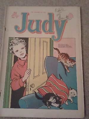 Judy vintage Comic  Issue No. 215 February 22nd 1964