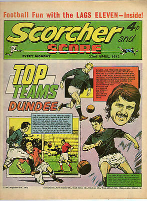 Scorcher and Score Comic: 22nd April 1972