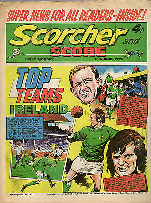 Scorcher and Score Comic: 10th June 1972