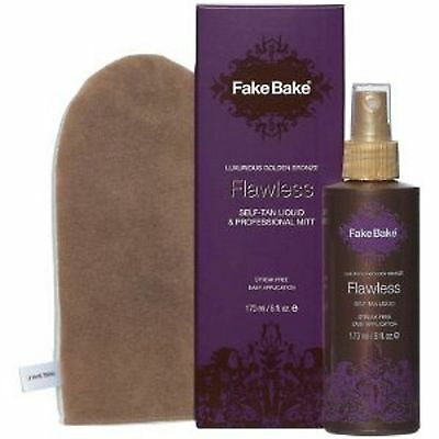 Fake Bake Flawless  Self-Tan Liquid & Professional Mitt 170 Ml