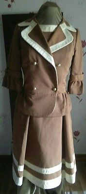 Lili Costa Dress and Jacket, for a wedding, party, formal event, racing attire.