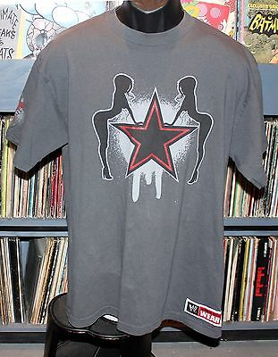 """Edge Rated R Vintage WWE """"IT'S EASY BEIN' SLEAZY"""" T-Shirt Size Large (L) EX WWF"""