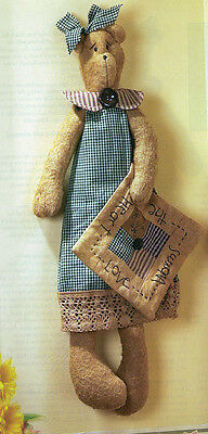 Aunt Mary Bear and her Quilt Pattern - 0019