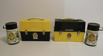 1974 Vintage Rare set of Canadian issued Bobby Orr Dome Lunchbox & thermos !!!!