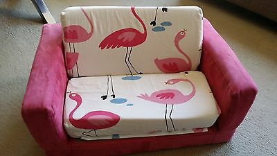 Teeny Me Flamingo Flip Flop Flip Out Sofa Couch