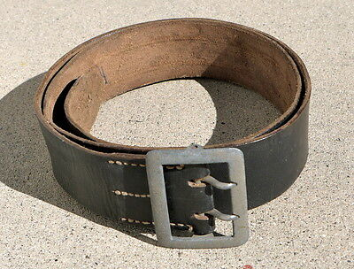 Original WWII German Officer Double Claw Belt, 105 CM