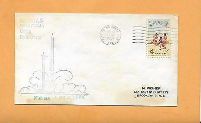 Missile Fired From Cape Canaveral Atlas Dec 13,1961  Patrick Afb