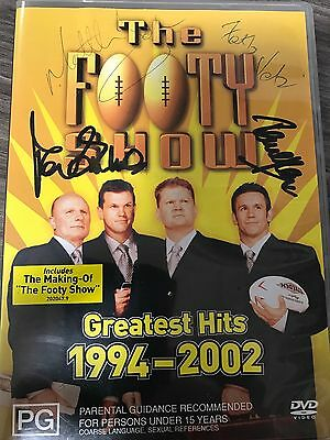 Signed 'The Footy Show' CD - Memorabilia