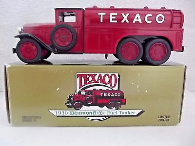 Texaco - 1930 Diamond Fuel Tanker.....limited Edition Series # 7 Truck W/bank