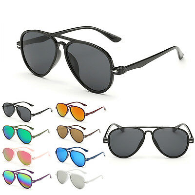 Fashion Children Outdoor Anti-UV 400 Sunglasses Mirrored Lens EyeGlasses