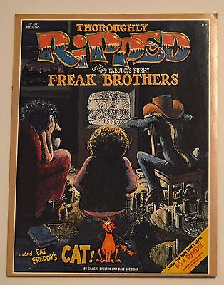1978 Thoroughly Ripped with the Fabulous Furry Freak Brothers (mint, complete)