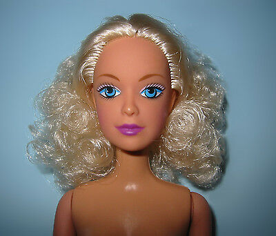 NEW/Mint Chic~NUDE BARBIE CLONE DOLL~Blonde Curly Hair for OOAK