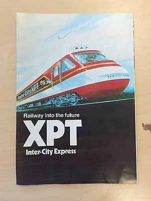 1984 State Rail NSW XPT Brochure