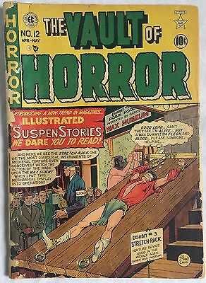 Vault of Horror #12  Complete  Rare Golden Age (EC,1950) 1st issue of the title