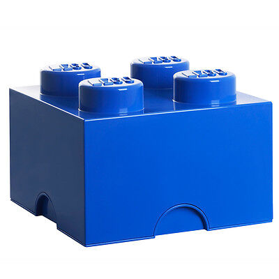 LEGO Storage Brick 4 Stud Blue 5001383 NEW