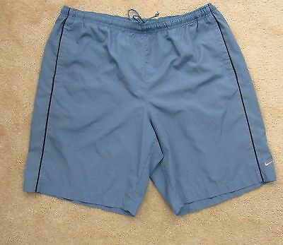 Nike Men's Swim Trunks Shorts with Pockets Blue Size XL