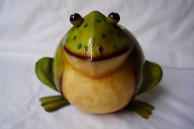 Decorative Frog Candle Holder - NEW! Cute!