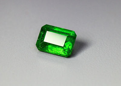 1.20 Cts_Gem Miracle !!! Collection_100 % Natural Vivid Green Chrome Diopside !!