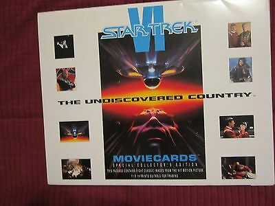 Star Trek Vi The Undiscovered Country (1991) Mint Complete Lobby Card Set