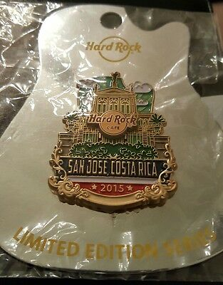 Hard Rock Cafe San Jose Costa Rica Icon Series Pin ** SOLD OUT**  LE 100