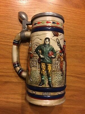 Avon Collectible 1983 Great American Football Stein Beer Mug Brew