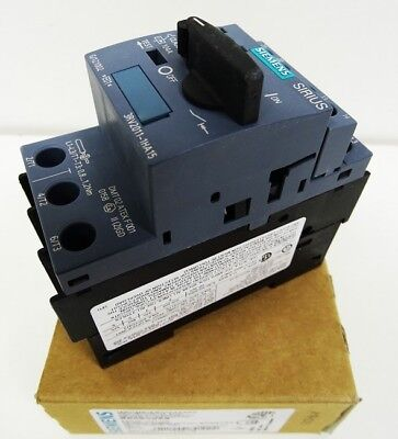 Siemens SIRIUS 3RV2011-1HA15 Circuit Breaker E-Stand: 01 -unused/OVP-