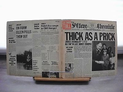 Lp - Jethro Tull - Thick As A Prick - Zeitungs-Cover