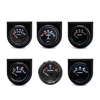 "2"" 52mm Black Car Auto LED Digital Water Temp Temperature Gauge Kit 40-120℃"