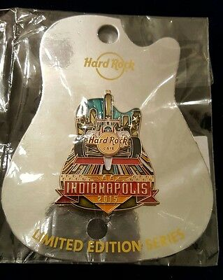 Hard Rock Cafe Indianapolis Icon Series Pin ** SOLD OUT**