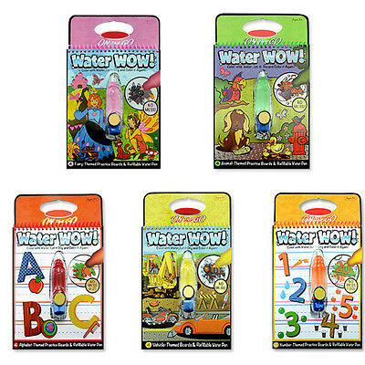 And On The Go Water Wow Bundle Animals Alphabet and Children Drawing Board