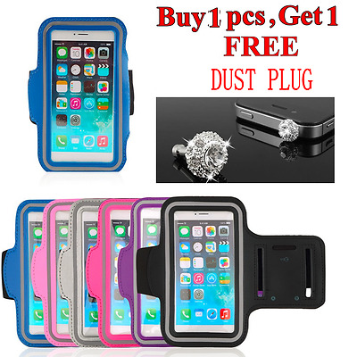 Universal Cellphone Sports Gym Armband Case Running Jogging Cover Holder 5.5inch
