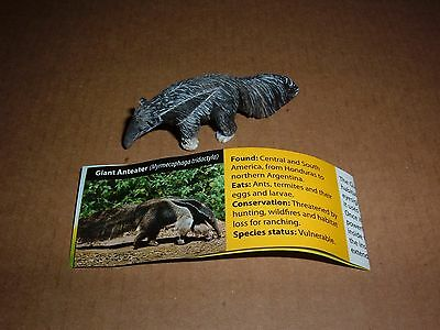 Series 1 American Yowie Giant Anteater Brand New From Capsule