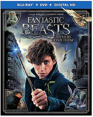 Fantastic Beasts and Where to Find Them Blu-ray/DVD/Digital HD