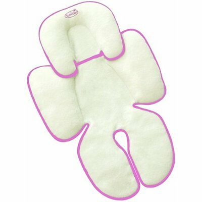 Reversible Baby Snuzzler Infant Support for Car Seats Strollers Bouncer Pink