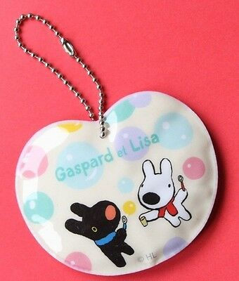 Gaspard et Lisa PVC School Bag Tag Luggage ID Tag Dogs Puppies French