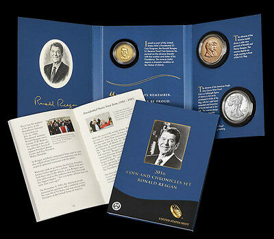 2016 Ronald Reagan Coin and Chronicles Set (16PA)