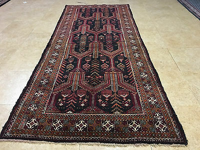 Beautiful Authentic Wool Handmade Hand Knotted  Persian Rug Carpet Runner
