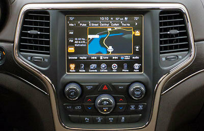 Jeep Grand Cherokee 2013, 2014, 2015 Uconnect 8.4 Genuine Navigation Activation