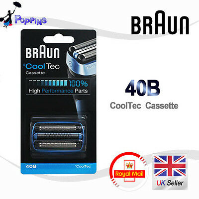 BRAUN 40B CoolTec Cassette For  CT2s, CT2cc, CT3cc, CT4s, CT4cc, CT5cc, CT6cc