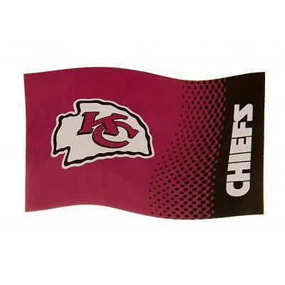 Kansas City Chiefs Official Crested Large Flag  (5FT X 3FT)
