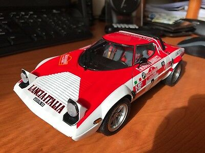 LANCIA STRATOS HF Rally #2, Sanremo 1974 Winner, 1:18 by Kyosho - Come Nuova!!!