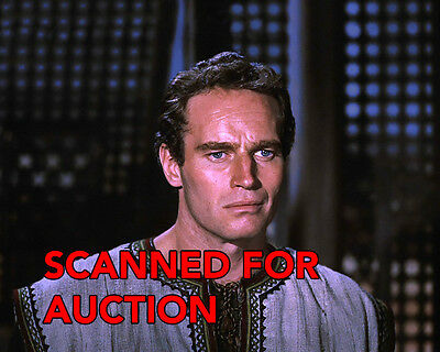 CHARLTON HESTON - BEN-HUR- Never Seen and Great 8x10 Color Photo