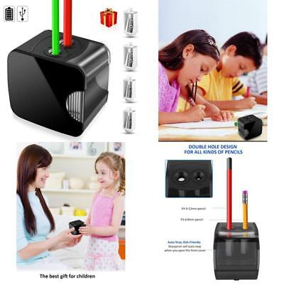 Pencil Sharpener Automatic Electric Touch Battery Personal Home Office School