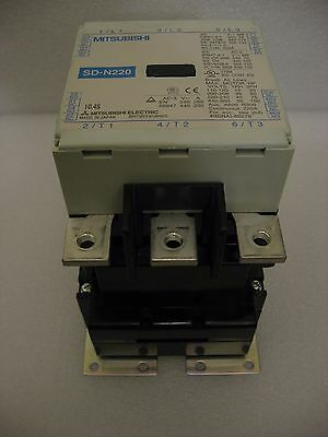Mitsubishi  SD-N220 220A Magnetic Contactor