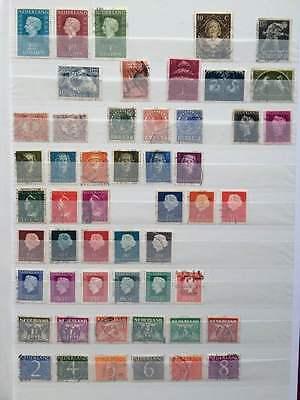 Selection of Dutch stamps