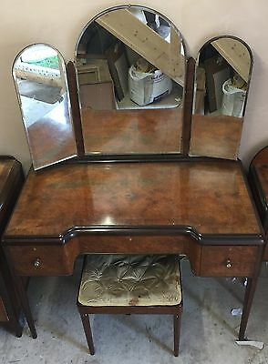 Dressing Table Set includes Dressing Table, Chess Draw,Bed Side Cabinet & Stool