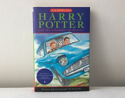 Harry Potter and The Chamber of Secrets First Edition Bloomsbury Hardback