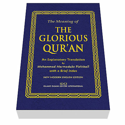 The Quran Translated into English - The Glorious Quran by Marmaduke Pickthall
