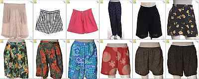 JOB LOT OF 52 MIXED VINTAGE SHORTS - Mix of Era's, styles and sizes (19169)*